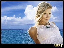 chmury, Maggie Grace, Filmy Lost, ocean